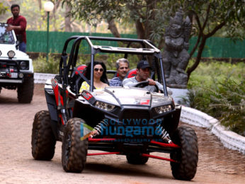 Salman Khan, Sohail Khan and others snapped at their farmhouse