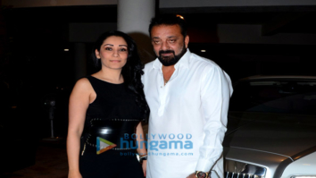 Sanjay Dutt, Sophie Chodhary and others snapped attending Manish Malhotra's bash