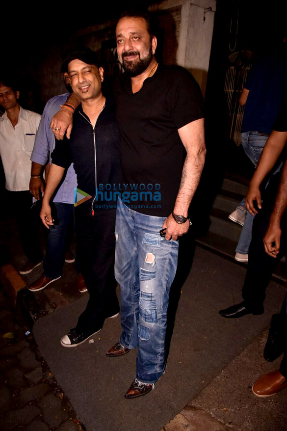 Sanjay Dutt at Karan Tyagi marriage anniversary