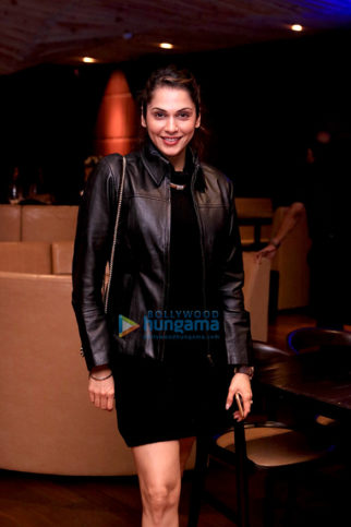Sarah Jane Dias and Isha Koppikar snapped at Pa Pa Ya in BKC
