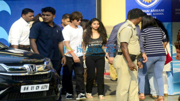 Shah Rukh Khan, Suhana Khan, Hrithik Roshan and others spotted at Dhirubhai Ambani International School