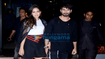 Shahid Kapoor and Mira Rajput spotted at a clinic in BKC