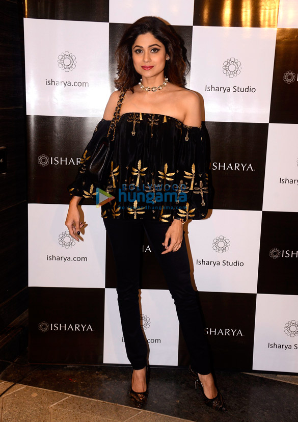 Shamita Shetty and others launch Masaba Gupta's Isharya Studio