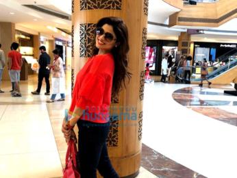 Shamita Shetty snapped at a mall in Mumbai