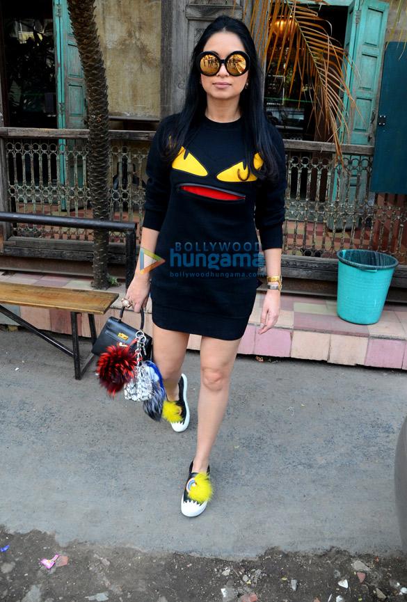 Sheetal Mafatlal snapped at Pali Bhuvan