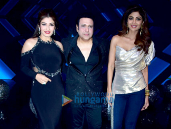 Shilpa Shetty, Raveen Tandon and Govinda snapped on sets of Super dancer
