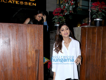 Shilpa Shetty spotted at Indigo