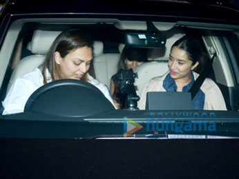 Shraddha Kapoor spotted at a clinic in BKC