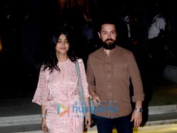 Shruti Haasan snapped with boyfriend at BKC