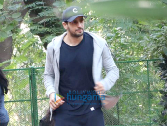 Sidharth Malhotra spotted post dance rehearsals