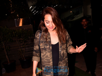 Sonakshi Sinha and others snapped in Bandra