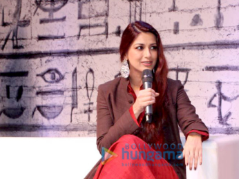 Sonali Bendre attends 'Times Lit Fest 2017'