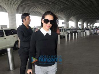 Sonam Kapoor, Rana Daggubati and others snapped at the airport