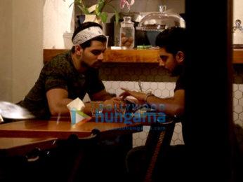 Sooraj Pancholi spotted at Sequel Bistro & Juice Bar, Bandra