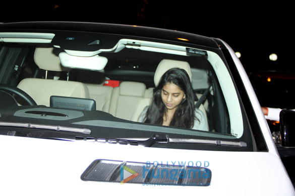 Suhana Khan snapped at Pali Hill, Bandra