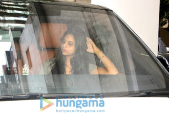 Suhana Khan snapped in Bandra