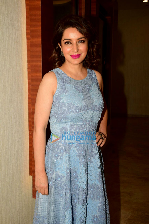 Tisca Chopra snapped doing media interactions for Chhuri