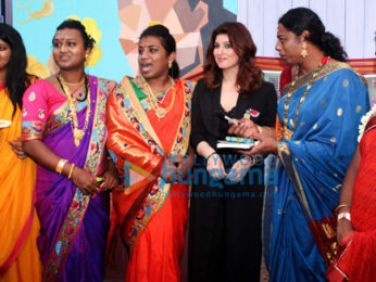 Twinkle Khanna spotted at Mehboob studio for an interactive talk