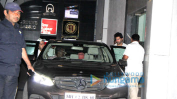 Varun Dhawan and Rohit Dhawan snapped at gym