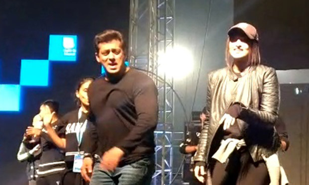 WATCH Salman Khan and Sonakshi Sinha rehearse on 'Tere Mast Mast Do Nain' for Dabangg Tour show in Delhi