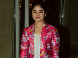 Zaira Wasim molestation row
