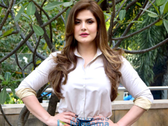 Zareen Khan and Karan Kundra do a photo shoot for their film '1921'