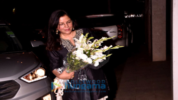 Zeenat Aman and Neetu Singh snapped at a party