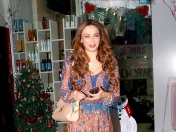 lulia Vantur snapped at Juice Salon