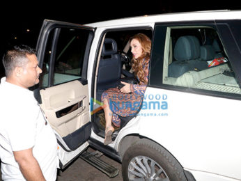 lulia Vantur snapped at Juice Salon