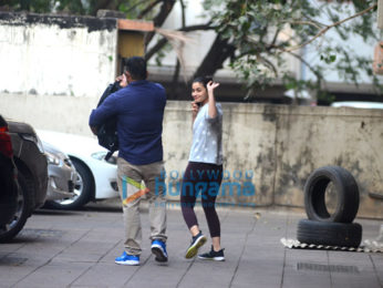 Alia Bhatt and Janhvi Kapoor spotted at gym in Bandra