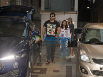Arjun Kapoor spotted after dance practice in Bandra