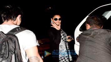 Bipasha Basu and Karan Singh Grover spotted at Myrah Spa, Juhu