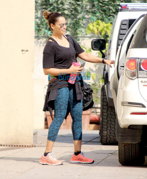 Bipasha Basu snapped at her gym