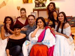 Celebs grace Shaheen Abbas' collection preview