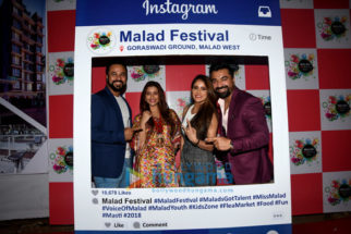 Celebs grace the inauguration of the Malad Festival 2018