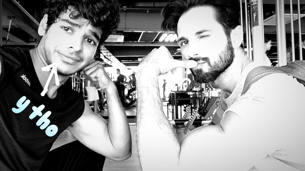 Check out Brothers Shahid Kapoor and Ishaan Khatter are now gym buddies (3)
