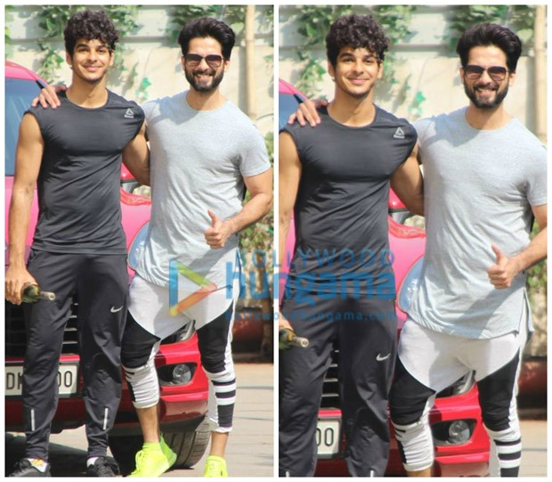 Check out Brothers Shahid Kapoor and Ishaan Khatter are now gym buddies (4)