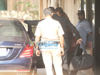 Deepika Padukone snapped outside her gym in Bandra