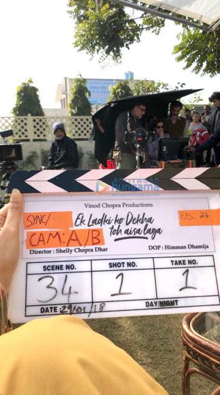 On The Sets Of The Movie Ek Ladki Ko Dekha Toh Aisa Laga