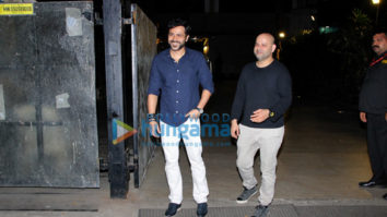 Emraan Hashmi spotted at Otters Club, Bandra