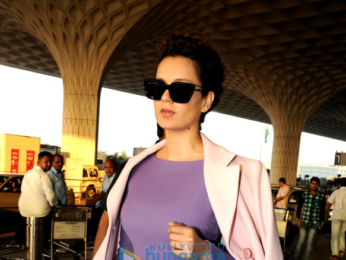Hrithik Roshan, Kangana Ranaut and others snapped at the airport