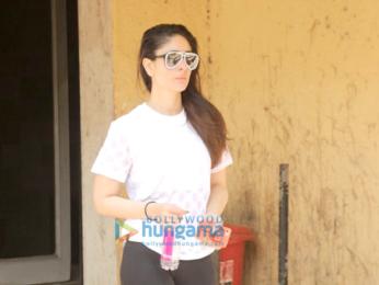 Kareena Kapoor Khan snapped outside the gym