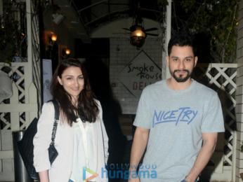 Kunal Khemu and Soha Ali Khan snapped in Mumbai