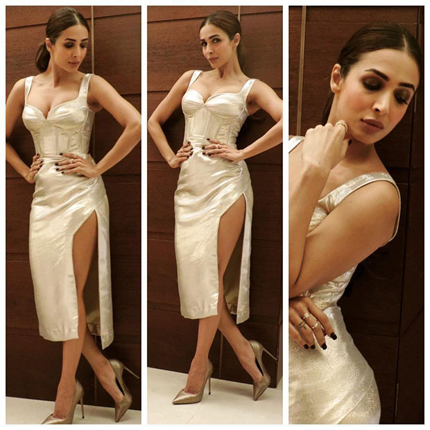 Malaika Arora has a thing or two for metallic, bling and all things shimmery-7
