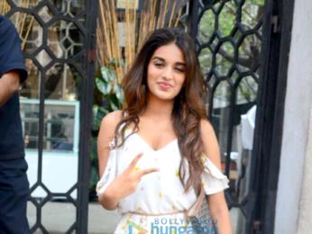 Nidhhi Agerwal spotted at Korner House, Bandra