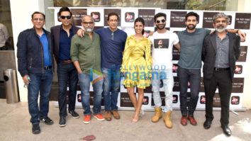 Nimrat Kaur snapped at a special screening of her web series The Test Case