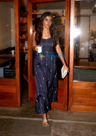 Pooja Hegde spotted at Sequel Bistro & Juice Bar