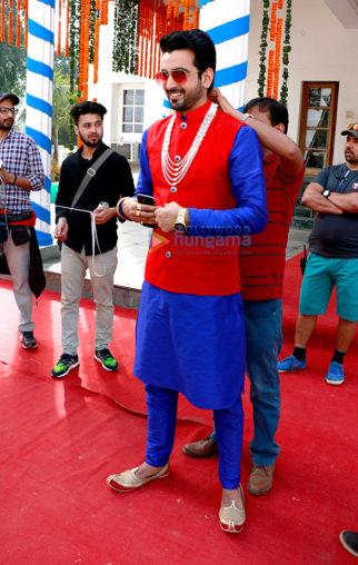 On The Sets Of The Movie Raja Abroadiya