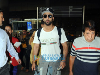 Ranbir Kapoor, Alia Bhatt and others snapped at the airport