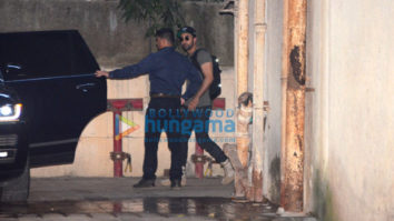 Ranbir Kapoor spotted after dance rehearsal in Bandra